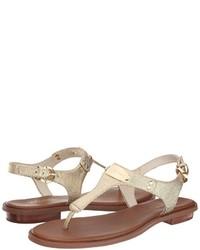 990debff321 ... MICHAEL Michael Kors Michl Michl Kors Mk Plate Thong Sandals