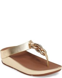 Superchain platform thong sandal medium 951552