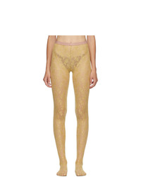 Gucci Gold Flirt Tights