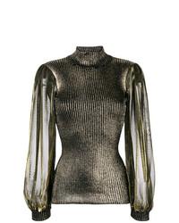 I'M Isola Marras Metallic Glow Sweater