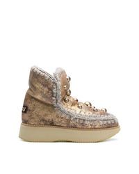 Mou Sheepskin Snow Boots