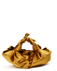 The Row The Ascot Velvet Small Clutch