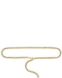 BCBGMAXAZRIA Faux Buckle Chain Waist Belt