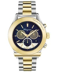 Salvatore Ferragamo 1898 Chronograph Bracelet Watch 42mm