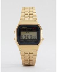 CASIO A159wgea 1ef Gold Digital Watch