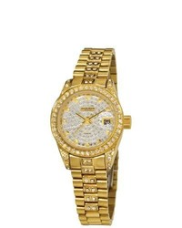 Akribos XXIV Diamond Quartz Bracelet Watch