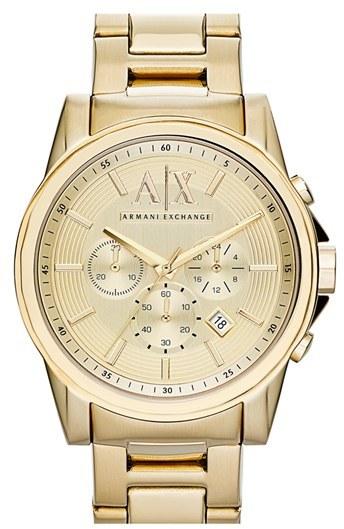 13c34a64b184 Armani Exchange Ax Chronograph Bracelet Watch 45mm