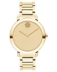 Movado Bold Evolution Glitter Bracelet Watch