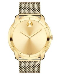 Movado Bold Mesh Strap Watch 44mm
