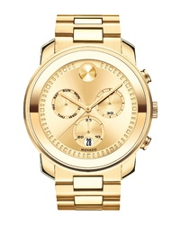Movado Bold Metals Chronograph Bracelet Watch
