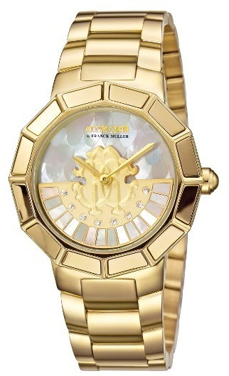 Roberto Cavalli By Franck Muller Rotating Dial Bracelet Watch 37mm