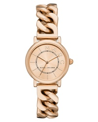 Marc Jacobs Classic Chain Link Bracelet Watch
