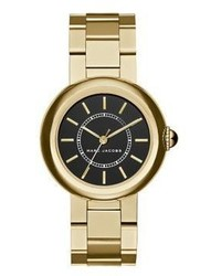 Marc Jacobs Courtney Goldtone Stainless Steel Bracelet Watch