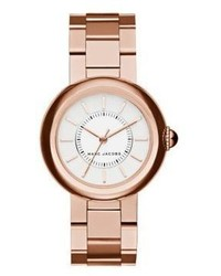 Marc Jacobs Courtney Rose Goldtone Stainless Steel Bracelet Watch