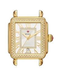Michele Deco Madison Diamond Dial Watch Case