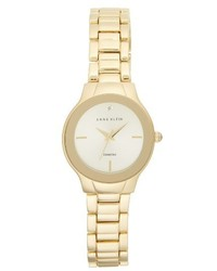 Anne Klein Diamond Bracelet Watch 28mm