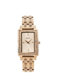 DKNY Gold Essential And Glitz Steel Watch Ny8624