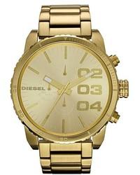 Diesel Double Down Large Chronograph Bracelet Watch 52mm