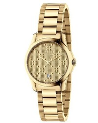 Gucci G Timeless Bracelet Watch 27mm