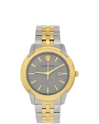 Versace Gold And Silver V Urban Watch
