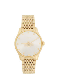 Gucci Gold Slim G Timeless Bee Watch