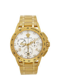 Versace Gold Sport Tech Watch