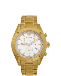 Versace Gold V Chrono Watch