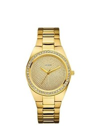 GUESS Gold Tone Ladies Watch U11055l1