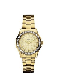 GUESS W0018l2 Dress Gold Watch