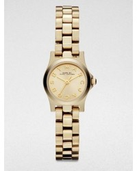 Marc by Marc Jacobs Henry Dinky Goldtone Stainless Steel Bracelet Watch