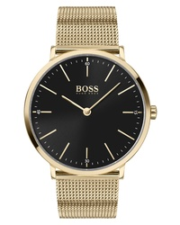 BOSS Horizon Mesh Watch