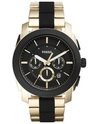 Fossil Machine Chronograph Bracelet Watch 45mm