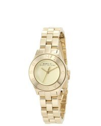 Marc Jacobs Blade Goldtone Watch