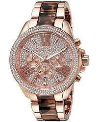 Michael Kors Michl Kors Mk6159 Wren Two Tone Stainless Steel Watch