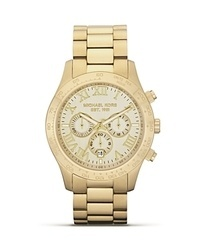 Michael Kors Michl Kors Round Gold Watch 45mm