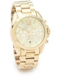 Michael Kors Michl Kors Bradshaw Gold Chronograph Watch