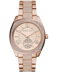 Michael Kors Michl Kors Bryn Rose Golden Stainless Steel Watch
