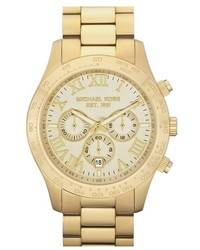 MICHAEL Michael Kors Michl Kors Large Layton Chronograph Watch 45mm