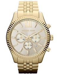 Michael Kors Michl Kors Large Lexington Chronograph Bracelet Watch 45mm