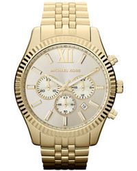Michael Kors Michl Kors Large Lexington Chronograph Bracelet Watch 45mm