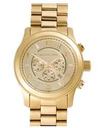 Michael Kors Michl Kors Large Runway Chronograph Bracelet Watch 45mm