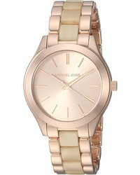 Michael Kors Michl Kors Mk3701 Mini Slim Runway Watches