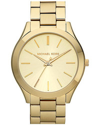 Michael Kors Michl Kors Slim Runway Bracelet Watch 42mm