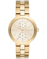 MICHAEL Michael Kors Michl Michl Kors 39mm Garner Chronograph Bracelet Watch Golden