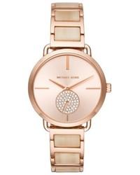MICHAEL Michael Kors Michl Michl Kors Portia Round Bracelet Watch 365mm