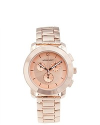 Monument Rose Gold Tone Sport Watch