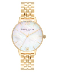 Olivia Burton Mother Of Pearl Bracelet Watch
