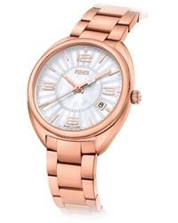 Fendi Moto Mother Of Pearl Bracelet Watch 34mm