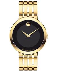 Movado 39mm Esperanza Watch Gold
