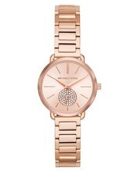 Michael Kors Portia Round Bracelet Watch